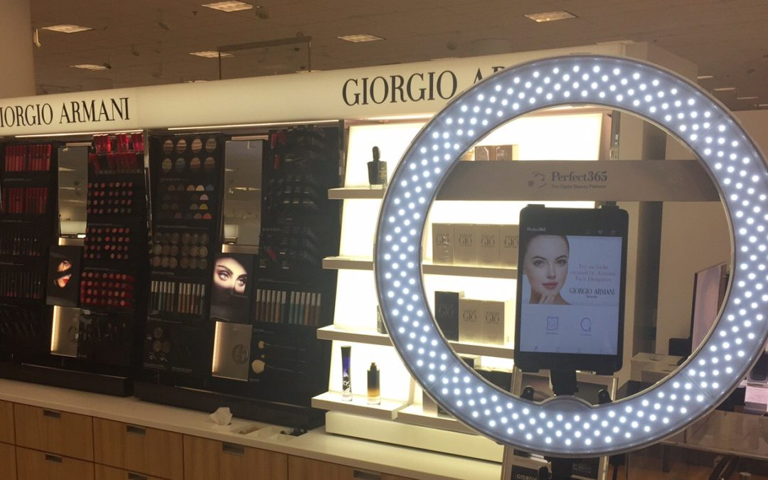 Perfect365 Hosts First-EverDigital Giorgio Armani Beauty at Nordstrom