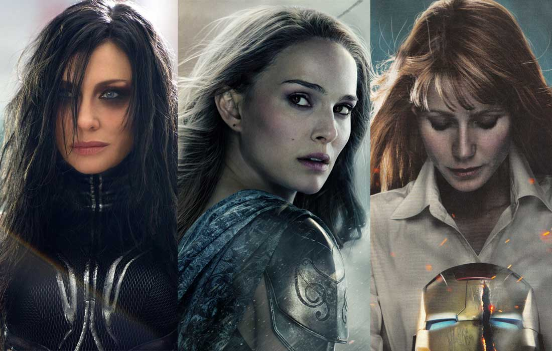 The women of Marvel Universe