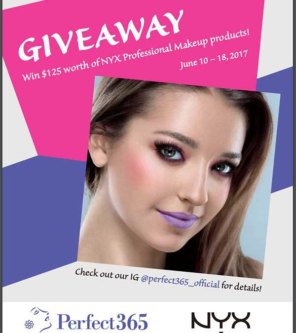 Enter to win $125 worth of NYX Professional Makeup between June 10-18