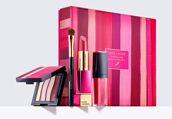 Estee Lauder Powerful Pink Color Collection