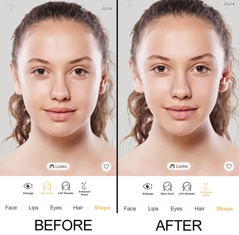 Face Slimming Perfect365 App