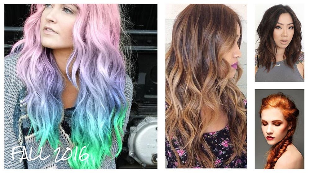 The hottest hair color trends for fall 2016