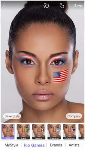 Perfect365 Lets 80 Million Users Take Part in Rio Games History