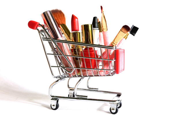 What is driving the sales of counterfeit cosmetics?
