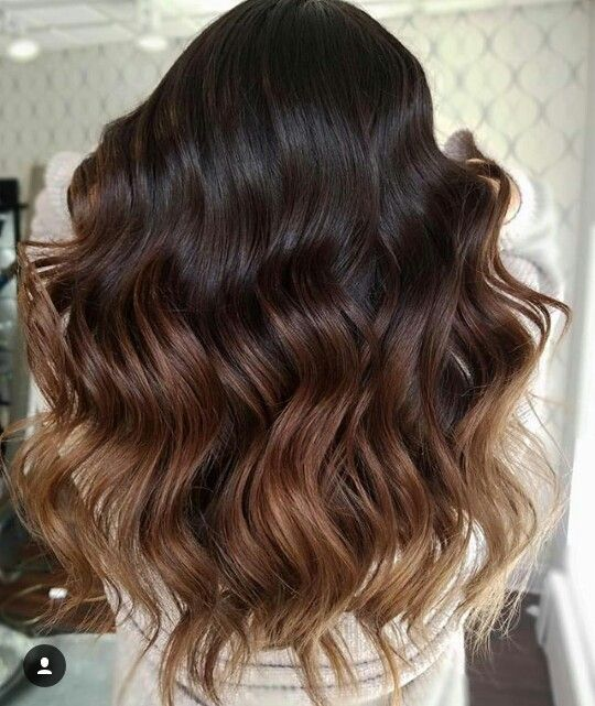 Sombre Fall Haircolor